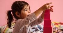 μοντεσσοριανό υλικό στον παιδικό σταθμό