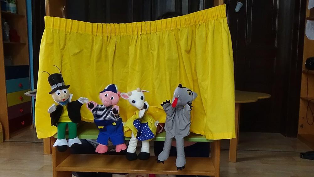 κουκλοθέατρο στον παιδικό σταθμό