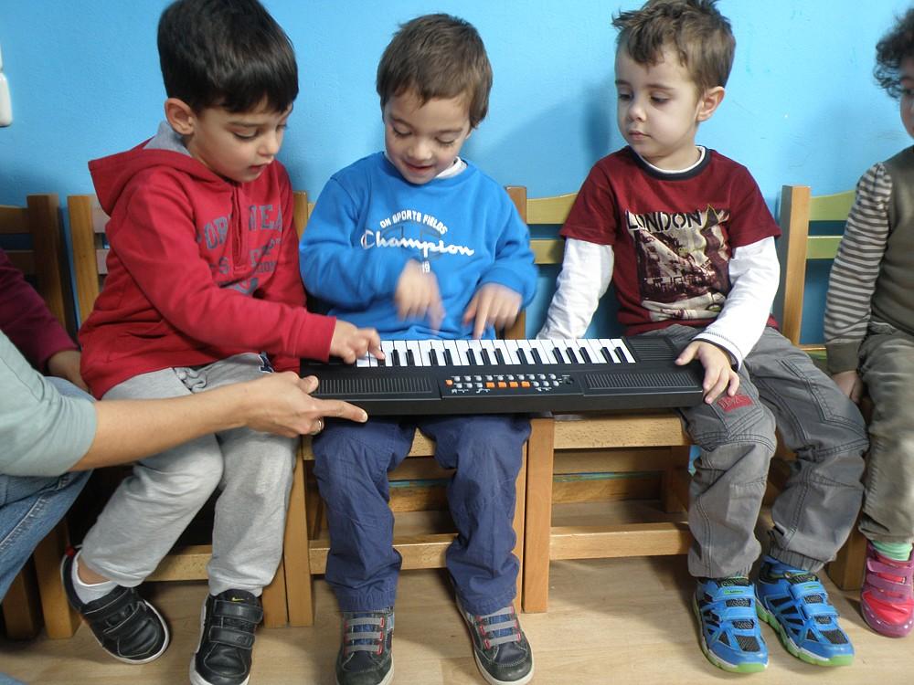 μουσική στον παιδικό σταθμό